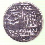 Moneda 200 ESCUDOS 1992 din argint