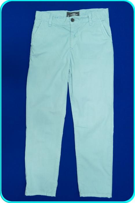 DE FIRMA → Pantaloni bumbac, talie reglabila, H&M → baieti | 11—12 ani | 152 cm