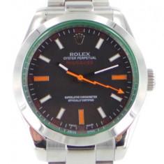 Rolex Milgauss steel, black Dial - calitate inainte de toate ! - Ceas barbatesc Rolex, Casual, Mecanic-Automatic, Otel, Inox, Analog