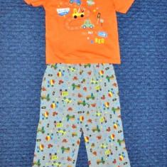 Nou! Pijama draguta, marca FF kids, baieti 18-24 luni/ 92 cm, Culoare: Multicolor