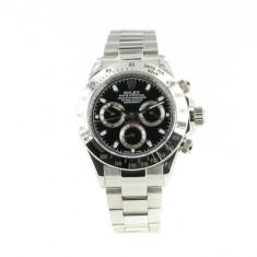 Rolex Daytona steel, black Dial - calitate maxima ! - Ceas barbatesc Rolex, Casual, Mecanic-Automatic, Otel, Inox, Analog