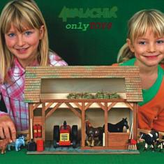 Set constructie case casute din lemn Grajdul walachia Staul pentru animale lego - Set de constructie Walachia, 8-10 ani, Unisex