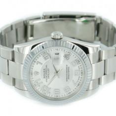 Datejust silver pearl Dial - Ceas barbatesc Rolex, Casual, Mecanic-Automatic, Inox, Analog