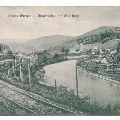 2801 - Suceava, VATRA DORNEI, Iacobeni, railway - old postcard - unused - Carte Postala Moldova 1904-1918