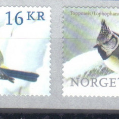 NORVEGIA 2015, Fauna - Pasari, serie neuzata, MNH, Nestampilat