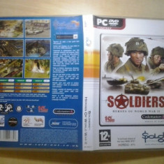Joc PC - Soldiers - Heroes of World War II - (GameLand - sute de jocuri), Strategie, 3+