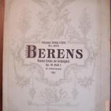 H. BERENS - SCHOOL OF VELOCITY, Op. 61, caietul I (partituri pian)