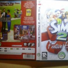 Joc PC Electronic Arts - The Sims 2 Festive Edition (incl Festive Holiday ext pack) (GameLand ), Simulatoare, 12+, Single player