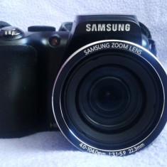 Aparat foto digital Samsung WB100, 16.2 MP - Aparat Foto compact Samsung, Bridge, 16 Mpx, Peste 20x