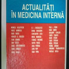 ACTUALITATI IN MEDICINA INTERNA - GHEORGHE GLUHOVSCHI ( 1801 )