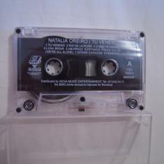 Vand caseta audio Natalia Oreiro-Tu Veneno,originala,raritate!-fara coperta!