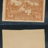 RFL 1919 ROMANIA ocupatia Ungaria Debretin eseu 30f calaret eroare tipar dublu