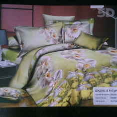 Lenjerii de pat gama Home Collection 3D/5D - Lenjerie de pat, Bumbac Satinat