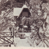 Romania, Salutari Slanic Moldova carte postala UPU necirculata 1902: Isvorul I.