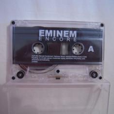 Vand caseta audio Eminem-Encore, originala, raritate!-fara coperti!! - Muzica Hip Hop Altele, Casete audio