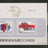 Japonia.1977 100 ani aderarea la UPU CI.296 - Timbre straine