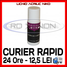 LICHID ACRILIC, MONOMER - NIKO 60 ML - MANICHIURA Unghii false Sina ACRIL
