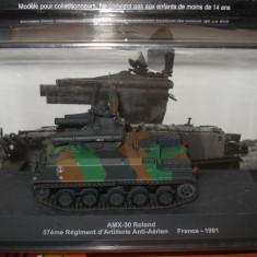 Macheta tanc AMX-30 Roland - France - 1991 scara 1:72 - Macheta auto