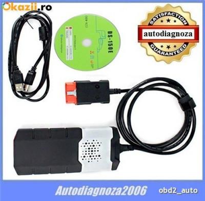 Interfata diagnoza tester Auto Delphi DS150  OBD2 2014 si 2016  limba Romana foto