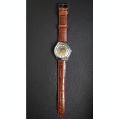 Ceas de barbati - Automatic - Citizen - Old/Retro - Curea piele Maro