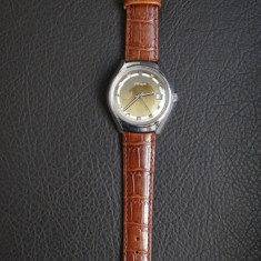 Ceas de barbati - Automatic - Citizen - Old/Retro - Curea piele Maro, Casual, Mecanic-Automatic