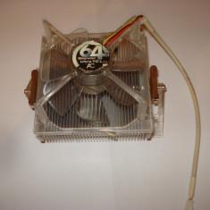Cooler ac 64 silencer ultra TCL AM2 AM3 cu senzor de caldura - Cooler PC Arctic Cooling, Pentru procesoare