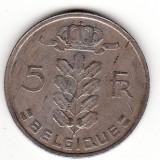 Belgia (Belgique) 5 franci 1973, Europa