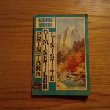 """PRIN """"TARA DIMINETILOR LINISTITE""""- Al. Andritoiu - Phenian 1986 - Bucuresti 1988 - Carte de calatorie"""