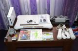 Consola Wii + Accesorii + Wii Fit Plus + 2 CD-uri jocuri, Nintendo WII