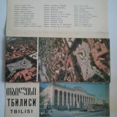 ALBUM CARTI POSTALE { VEDERI } TBILISI - GEORGIA { NECIRCULATE }, Necirculata