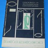 AUREL POPA - CONTRIBUTII LA INSTRUMENTATIA CONTEMPORANA DE LA JAZZ LA SIMFONICA