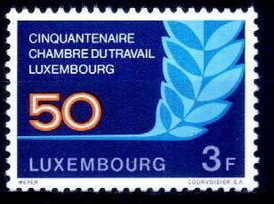 Luxemburg 1973 - cat.nr.818 neuzat,perfecta stare foto