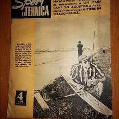 Revista sport si tehnica aprilie 1973