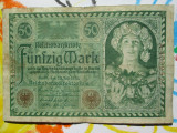 50 mark 1920 Germania ,  bancnota veche 50 marci germane