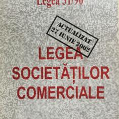 LEGEA SOCIETATILOR COMERCIALE - Carte Drept comercial