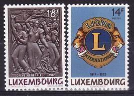 Luxemburg 1992 cat.nr.1245-6 neuzat,perfecta stare foto