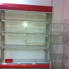 Frigidere cu prelata, lazi frigorifice si rafturi pentru magazin alimentar. - Lada Frigorifica