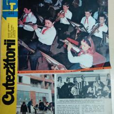 Cutezatorii 15 din 14 aprilie 1977, anul XI (nr. 498)/ Eroii de la Plevna ep. 5 - Revista scolara