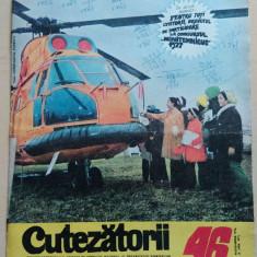 Cutezatorii 46 din 11 noiembrie 1976, anul X (nr. 477)/ Detasamentul erou ep. 4 - Revista scolara