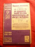 G.Hauptmann -Clopotul Scufundat -Ed.Bibl.Teatrului National 1938, ilustr.R.Maniu