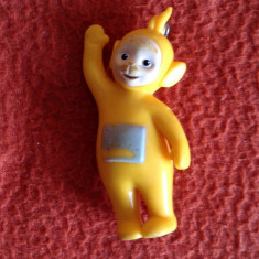 Figurina Laa-Laa Personaj Teletubbies, Germany (Germania) 1996, 7 cm, colectie - Miniatura Figurina