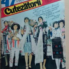 Cutezatorii 47 din 18 noiembrie 1976, anul X (nr. 478)/ Detasamentul erou ep. 5 - Revista scolara