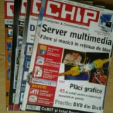 Revista CHIP - lot 4 reviste, nr.1, 3, 4, 10 / 2005 - Revista IT