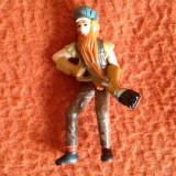 Figurina jucarie surpriza ou Kinder, miner fochist muncitor, 6 cm, plastic - Figurina Animale