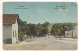 % carte postala (ilustrata)-ALBA-Ocna muresului(Uioara)-Perceptoria anul 1925, Circulata, Printata