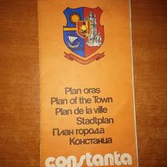 Harta orasului constanta 1978