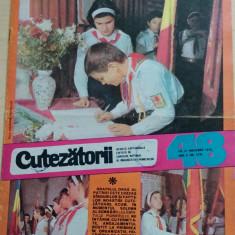 Cutezatorii 48 din 25 noiembrie 1976, anul X (nr. 479)/ Detasamentul erou ep. 6 - Revista scolara