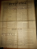 ziarul dreptatea 17 august 1946(articolul  doctrina marxista si statele agrare )