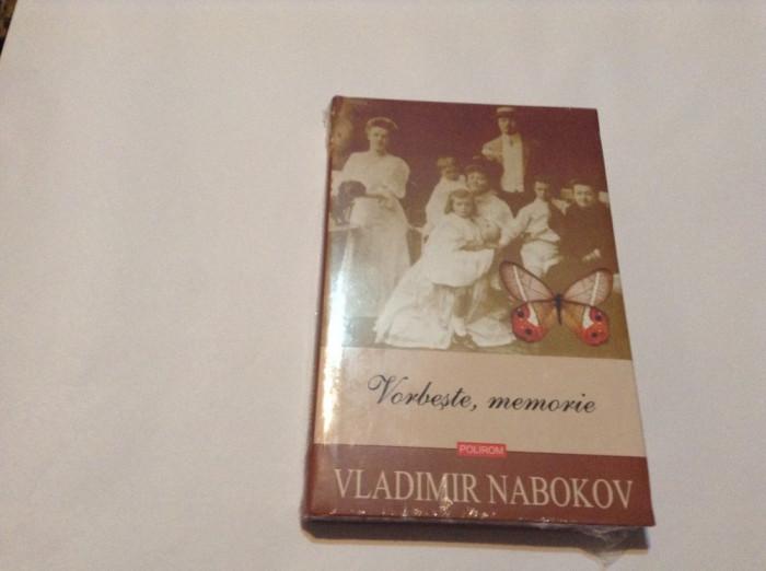 Vorbeste, memorie - de Vladimir Nabokov,RF7/4,RF8/2