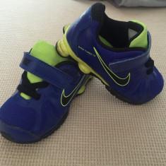 Adidasi superbi Nike originali, mar 23, 5, 13 cm int - Adidasi copii Nike, Culoare: Albastru, Baieti